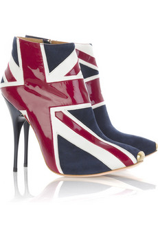 Alex McQ Union Jack Boot