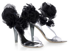 Not a Good Look: Alexander McQueen Corsage Vinyl Sandals