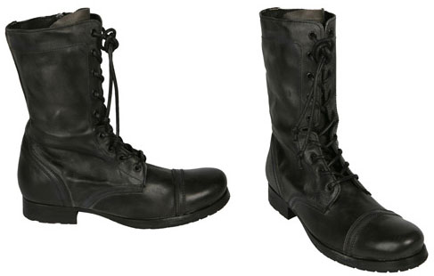 Military Boots: The Cool Factor