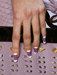 Beauty: Nail-Back Painting
