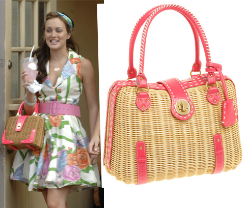 Gossip Girl: SR SQUARED by Sondra Roberts Wicker Basket