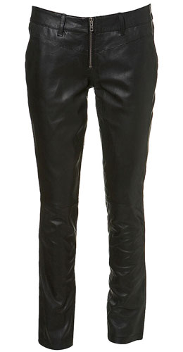 Biker Chic Comes To The High Street: Leather Trousers
