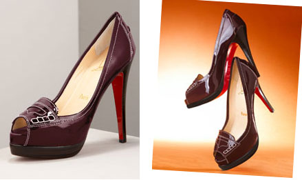 Key Items for AW08: Christian Louboutin Peniche 120 Patent Loafer Pumps