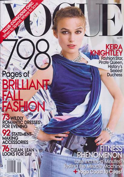 Keira Knightley: The Worst Vogue US Cover Ever?