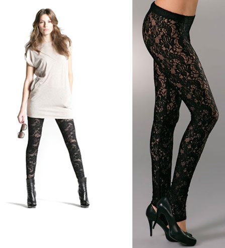 Kova&T Lace Leggings