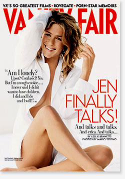 Vanity Fair interview