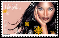 Austria stamps on Naomi