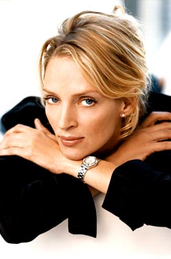 Uma Thurman for Tag Heuer