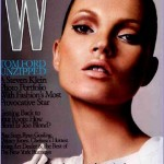 W magazine supports Kate Moss