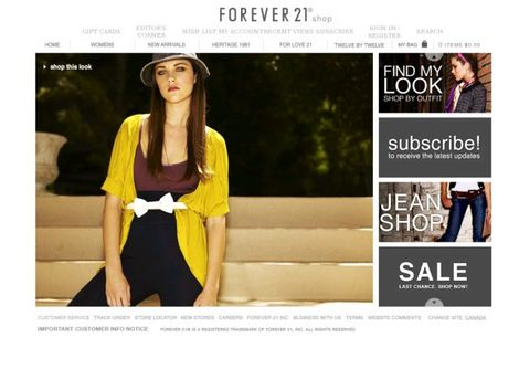 Forever 21 now ships to the U.K.!