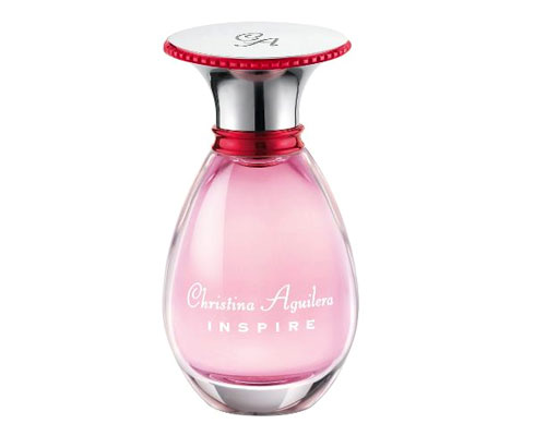 Christina Aguilera's latest fragrance: Inspire