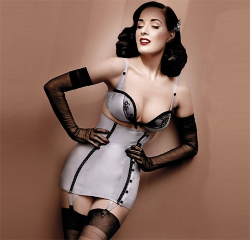 Dita Von Teese and Wonderbra: A Match Made in Heaven
