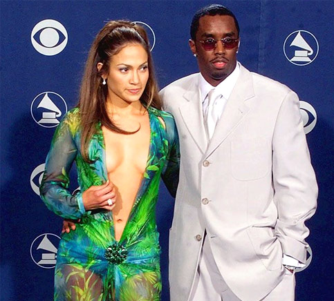 Jennifer Lopez and Sean Puffy Combs