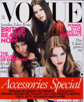 Its Jourdan Dunn's first cover for British Vogue!