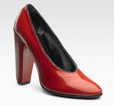 Marc Jacobs Velvet-Trimmed Pumps: Dress-Up Shoes