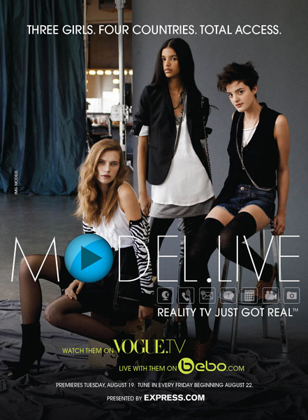Model.Live: The Reality Drama Begins