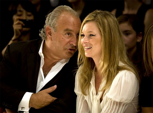 Why Sir Philip Green shops in Iceland