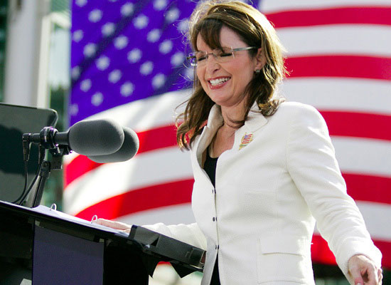 Sarah Palin's $150,000 wardrobe. She should have gone to H&M