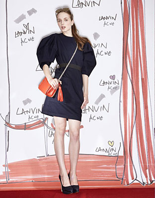 Acne and Lanvin unite!