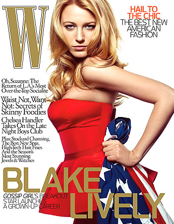 Blake Lively's W Cover