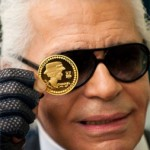 Karl Lagerfeld designs Chanel coins