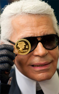 Karl Lagerfeld Chanel Coin