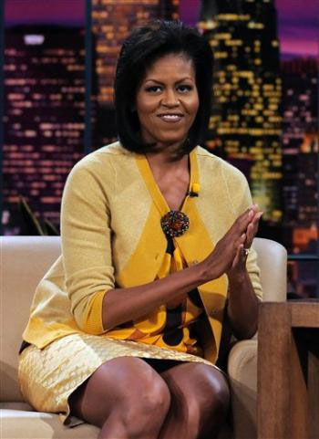 Michelle Obama Jay Leno Show