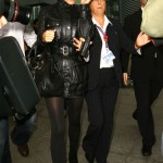 Victoria Beckham travels in style?