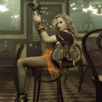 Madonna strikes a pose for Louis Vuitton!