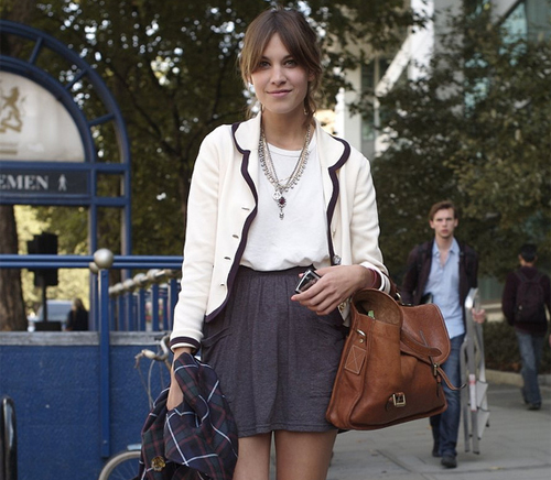 Is Alexa Chung, getting a New Look?