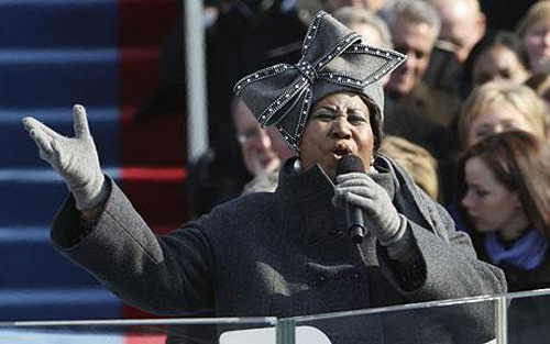 The must have item: Aretha Franklin's hat
