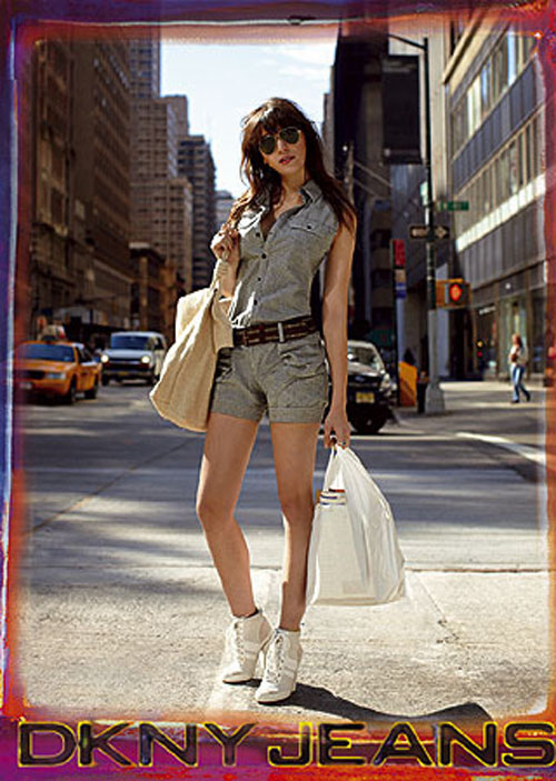 Model of the moment: Daisy Lowe for DKNY