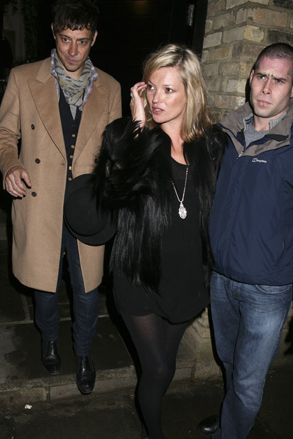 Police, paramedics & booze: It's Kate Moss' birthday!