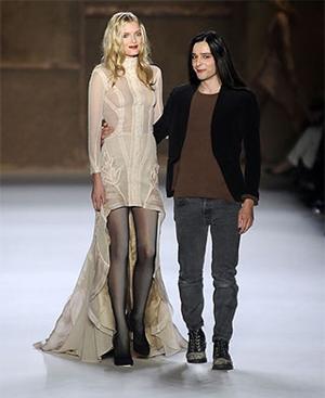 Is Olivier Theyskens saying au revoir to Nina Ricci?