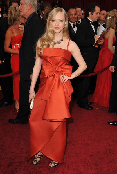 The Oscars 2009: Amanda Seyfried