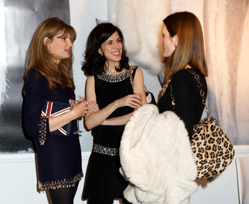 Azzaro pops up with a party