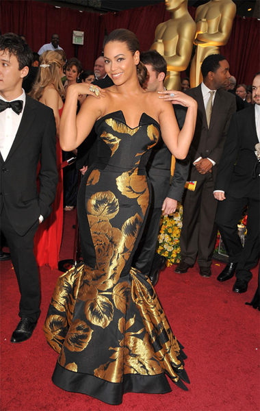 The Oscars 2009: Beyonce Knowles