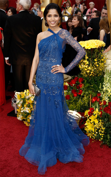 The Oscars 2009: Freida Pinto