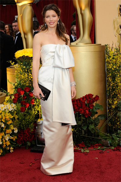 The Oscars 2009: Jessica Biel