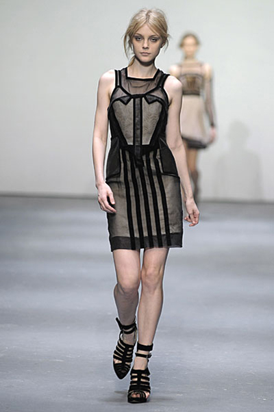 London Fashion Week: Christopher Kane AW09