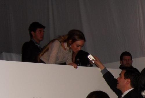 Lindsay Lohan at Charlotte Ronson AW09