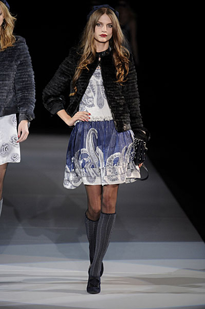Milan Fashion Week: Emporio Armani AW09
