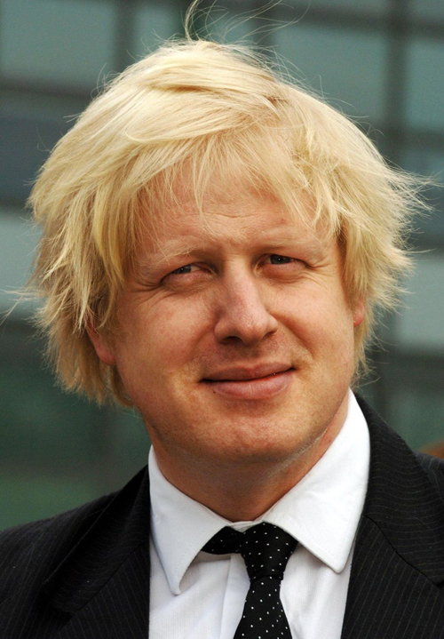 London's fashion saviour: Boris Johnson