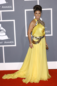 grammy red carpet 090209