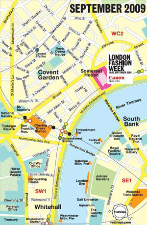 London Fashion Week is on the move