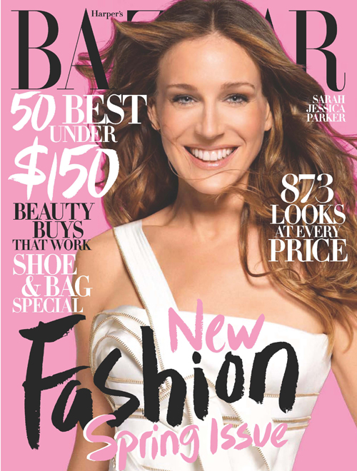 SJP recreates Diana Vreeland for Harper's Bazaar