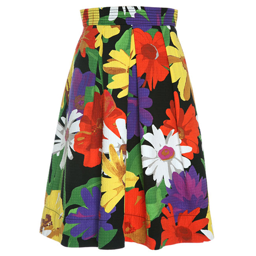 See by Chloe Waffle A-Line Skirt