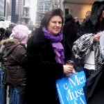 Suzy Menkes at New York Fashion Week