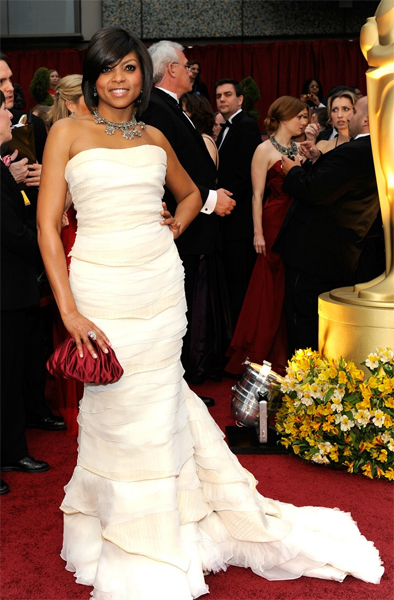 The Oscars 2009: Taraji P. Henson