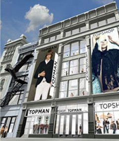 Don't worry New York Topshop is on its' way